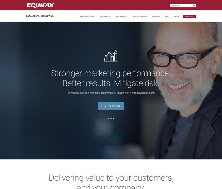 Twig portfolio project - Data-driven marketing by Equifax